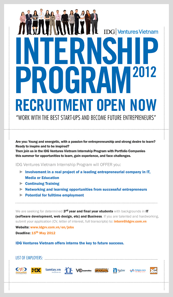 Summer Internship Programs 2012 Philippines